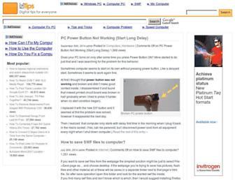 izitips.com screenshot