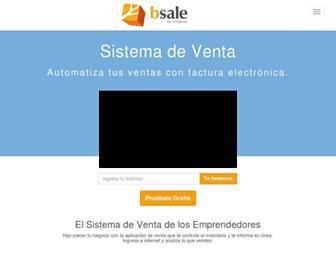 bsale.cl screenshot