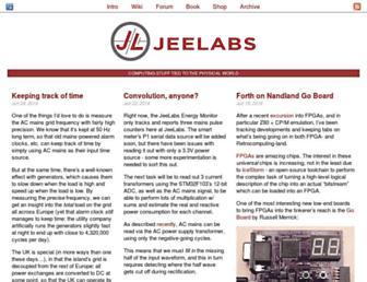 jeelabs.org screenshot