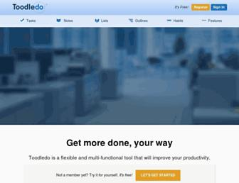 Thumbshot of Toodledo.com