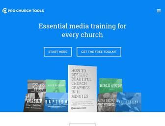 prochurchtools.com screenshot