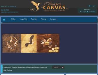 amazoncanvas.com screenshot