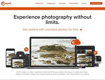 Thumbshot of Eyefi.com