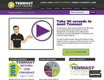 Screenshot for tenmast.com