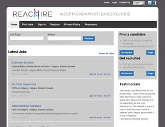 reachire.ca screenshot
