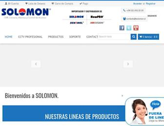 solomon.cl screenshot