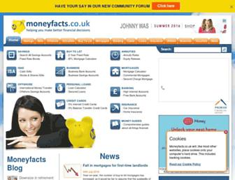 moneyfacts.co.uk screenshot