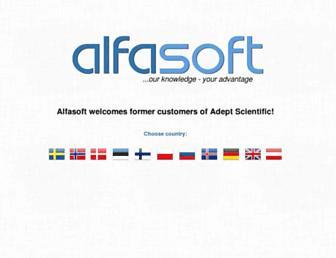 alfasoft.com screenshot