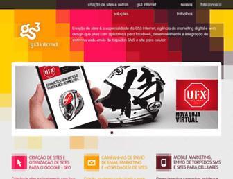 gs3internet.com.br screenshot