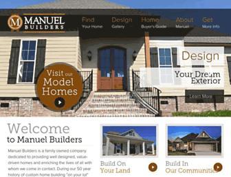 manuelbuilders.com screenshot