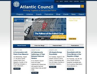 Thumbshot of Atlanticcouncil.org