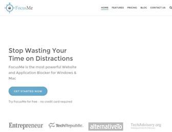 focusme.com screenshot