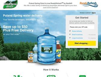 Thumbshot of Polandspringdelivery.com