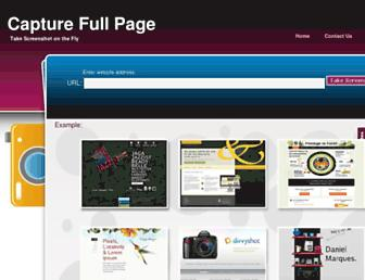 Thumbshot of Capturefullpage.com