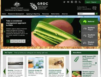 grdc.com.au screenshot