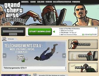 sanandreas-fr.net screenshot