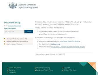 docs.employment.gov.au screenshot