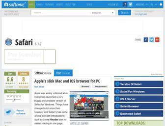 safari.en.softonic.com screenshot