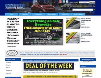 hyundaiaccessorystore.com screenshot