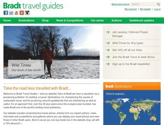 bradtguides.com screenshot