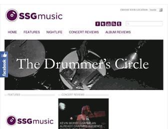 ssgmusic.com screenshot