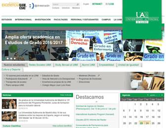 uam.es screenshot