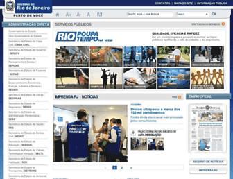 Thumbshot of Rj.gov.br