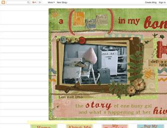 beeinmybonnetco.blogspot.com screenshot