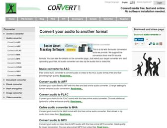 audio.online-convert.com screenshot
