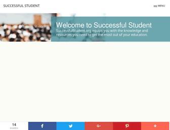 successfulstudent.org screenshot