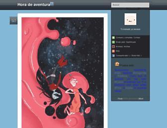 horadeaventura.tumblr.com screenshot