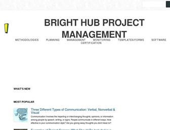 brighthubpm.com screenshot