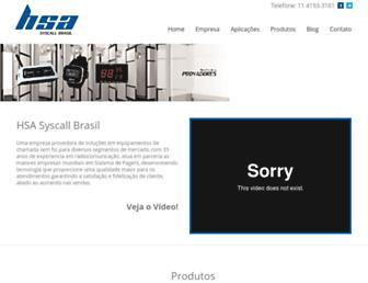 syscallbrasil.com.br screenshot