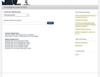 iogear.custhelp.com screenshot