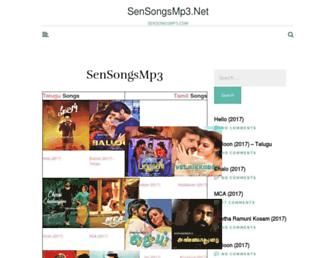 sensongsmp3.net screenshot