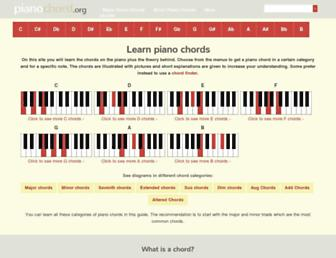 pianochord.org screenshot