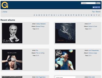mp3.gisher.org screenshot