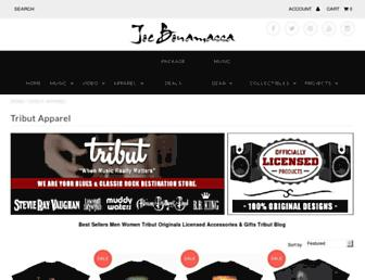Thumbshot of Tributapparel.com