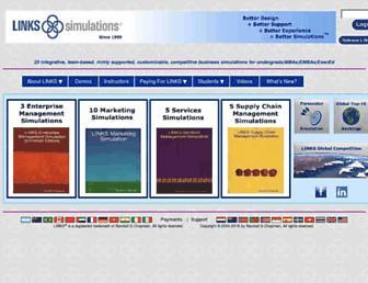 links-simulations.com screenshot
