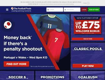 footballpools.com screenshot