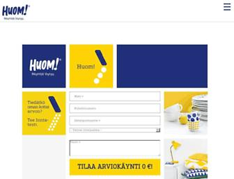 Thumbshot of Huom.fi