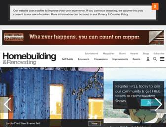 homebuilding.co.uk screenshot
