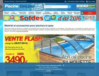 piscines-online.com screenshot