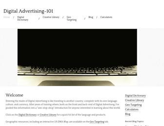 digitaladvertising-101.com screenshot