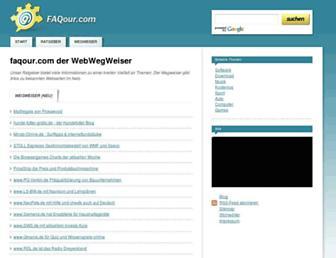 Main page screenshot of gnilhe.de