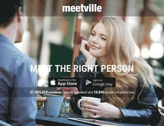meetville.com screenshot
