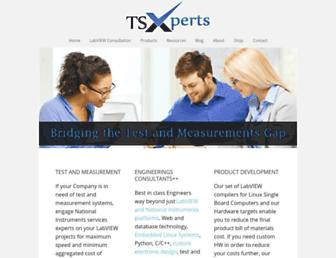 tsxperts.com screenshot