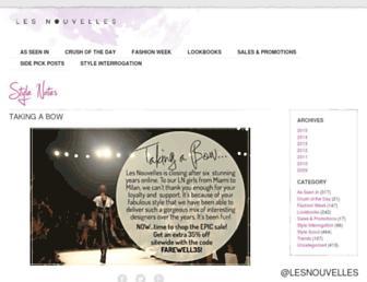 Thumbshot of Shoplesnouvelles.com