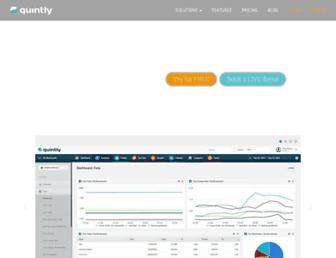 Thumbshot of Quintly.com