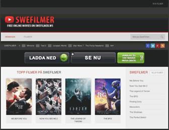 swefilmer.ws screenshot